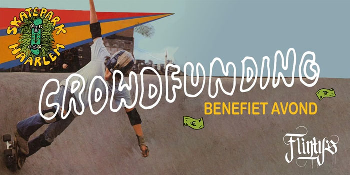 Flintys Crowdfunding Night Skatepark Haarlem