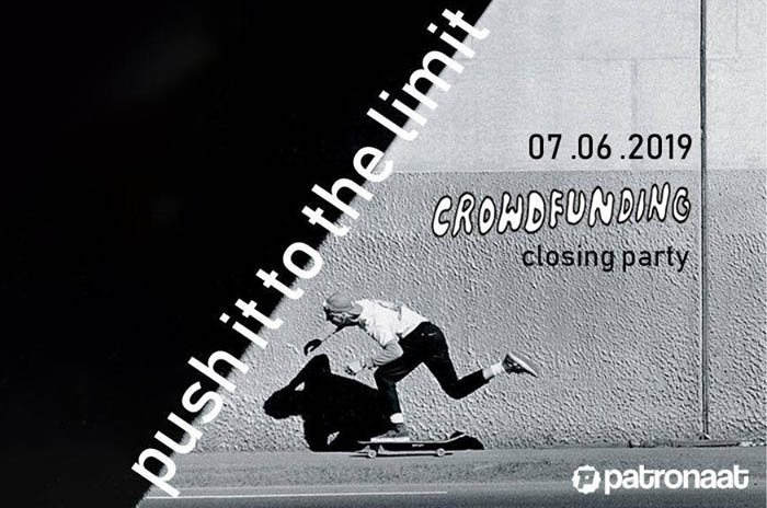 Crowdfunding Skatepark Haarlem Patronaat Push It To The Limit