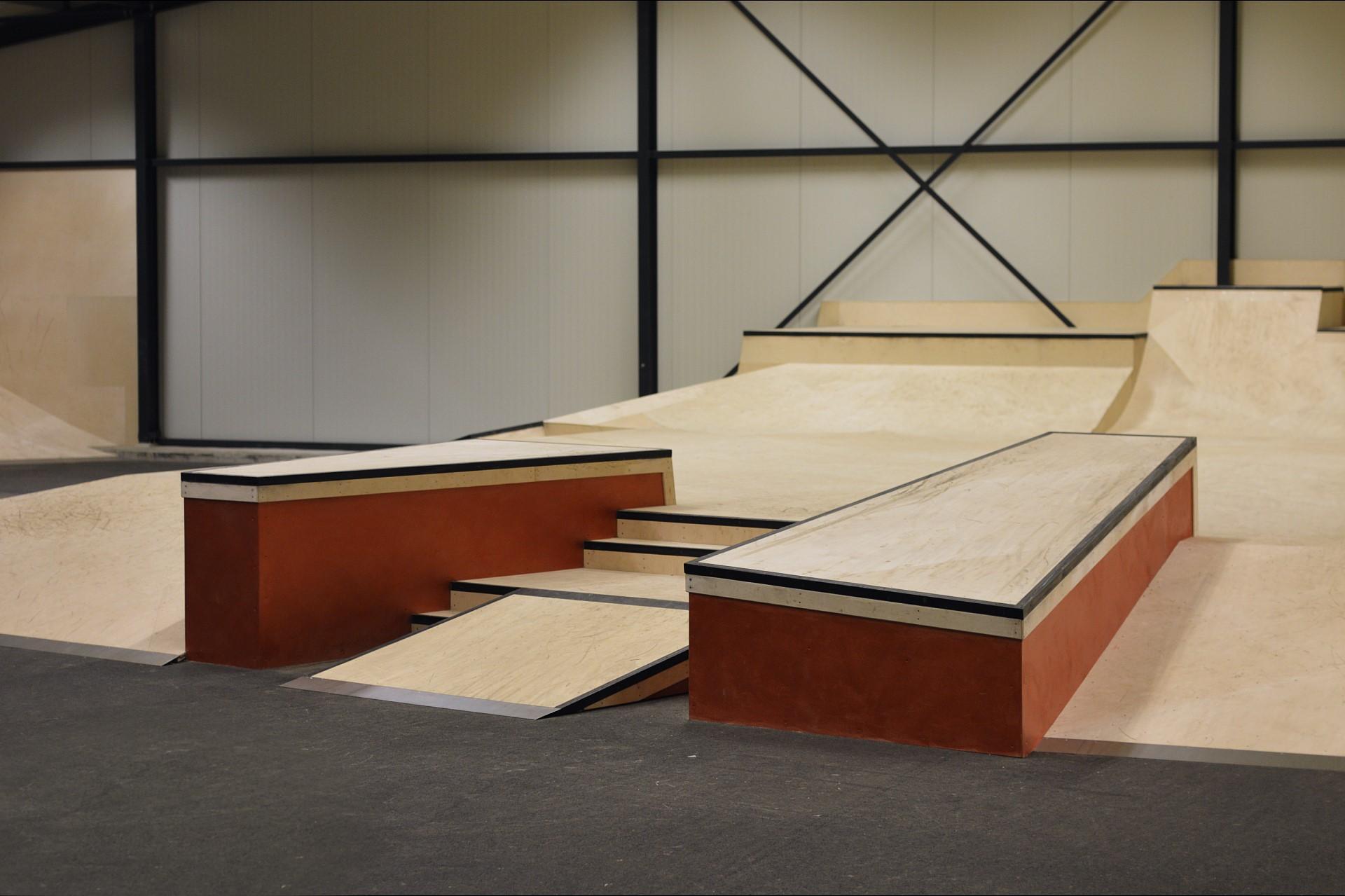 Skatepark Haarlem obstakels
